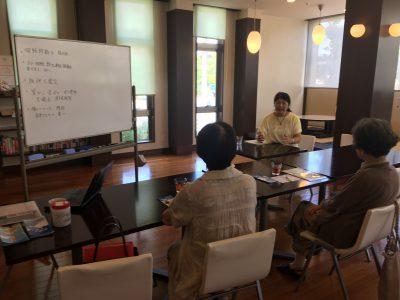 あんしん村の第三回終活座談会、無事終了しました、終活マスター・加藤節子様、ありがとうございました。終活の極意とは。