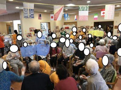 有料老人ホームあんしん村のあんしん村祭の連載記事、その3最終目的は何のために行う?はあの○○氏が教えてくれた